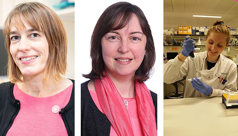 Dr charlotte Coles, Violet Warick and Kate Makin
