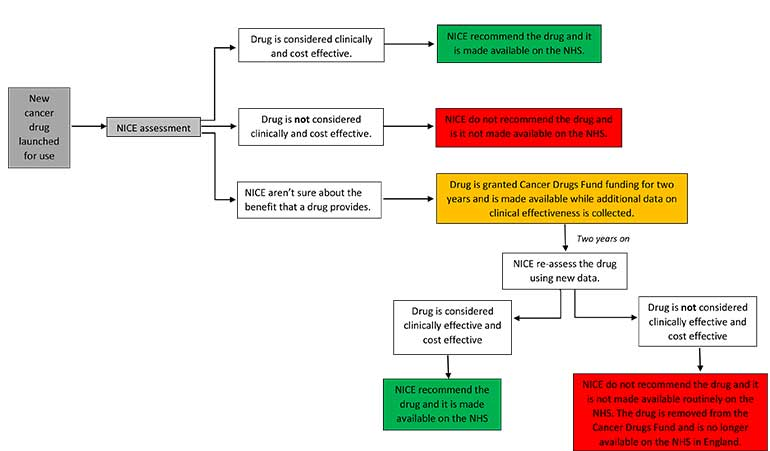 Cancer Drugs Fund consultation diagram Breast Cancer Now