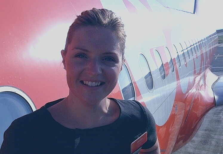 easyJet cabin manager Louise