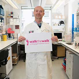 Alan Tutt, researcher supporting Walk the Walk