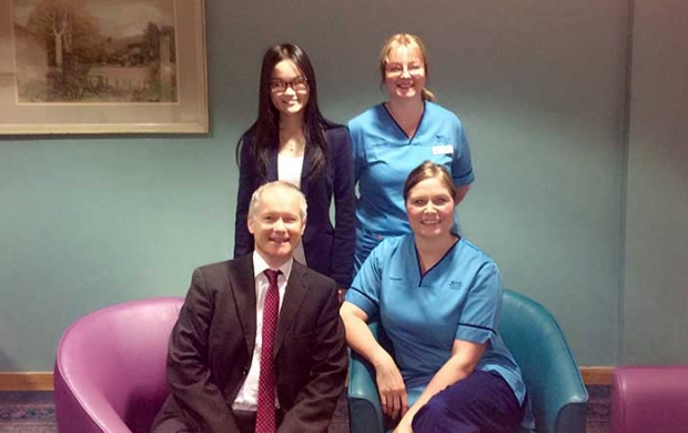 Professor Gerry Humphris and his team at University of St Andrews