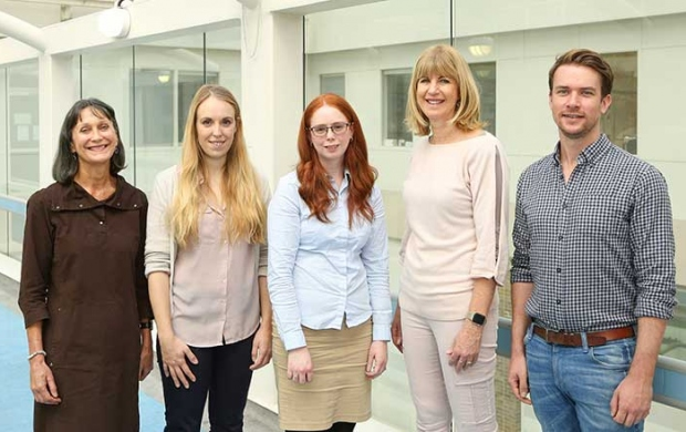 Dr Lyndsay Hughes and her team at King's College London