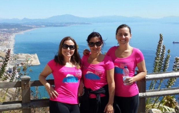 Bianca, Katherine and Wendy are fundraising in memory of their friend Nancy
