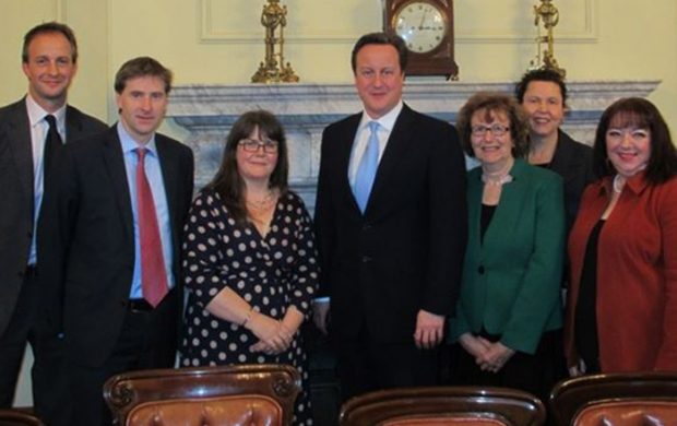 Meeting with David Cameron