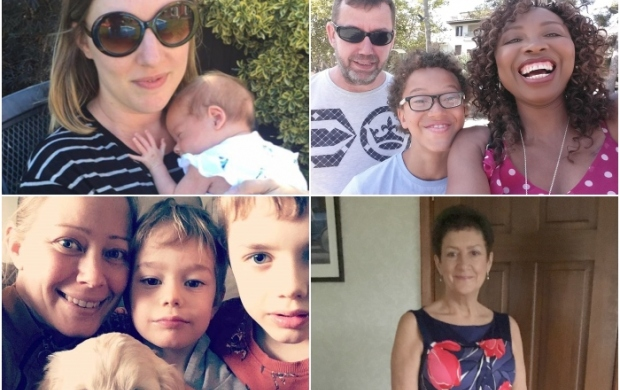 Mother's Day compilation of images of mothers in article