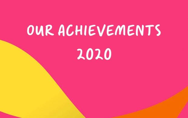 'Our achievements' text