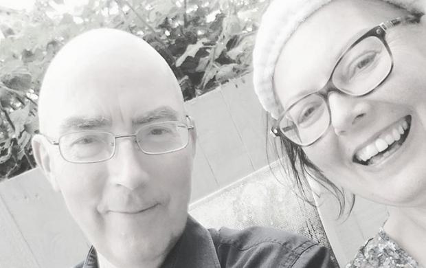 Sarah and her dad