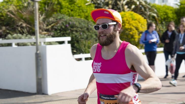 Runner in a marathon