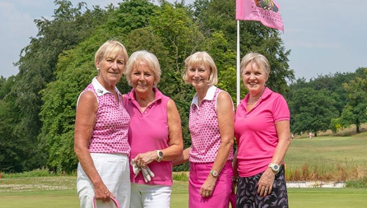 golf club pink
