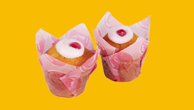 Asda tickled pink muffins
