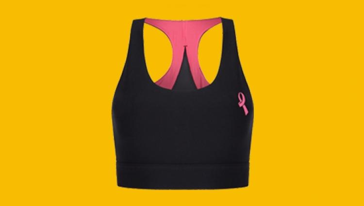 Asda tickled pink sports bra