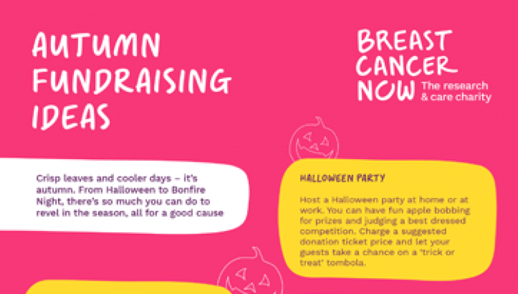 Autumn fundraising guide