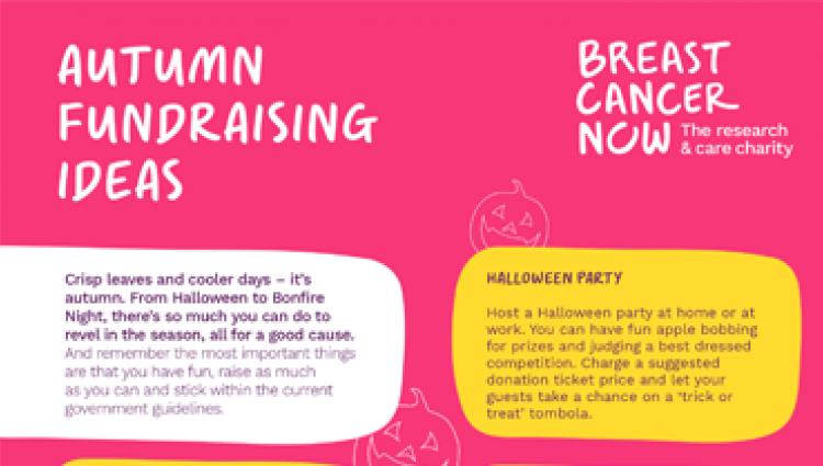 Autumn fundraising guide