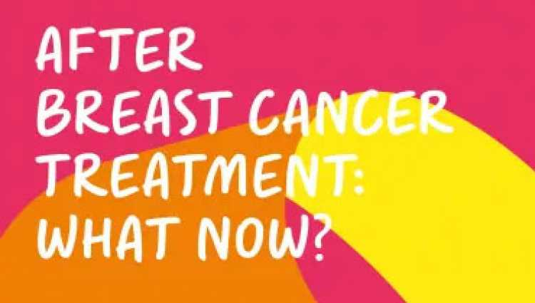 'After primary breast cancer treatment: what now?' booklet