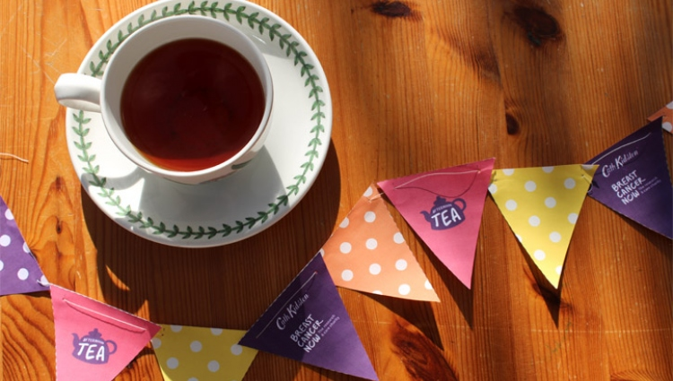 Cup of tea and Afternoon Tea bunting