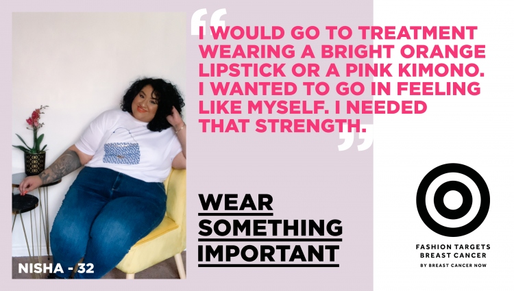 Nisha Fashion Targets Breast Cancer