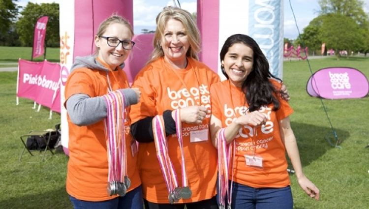 Celebrate as our walkers cross the finish line