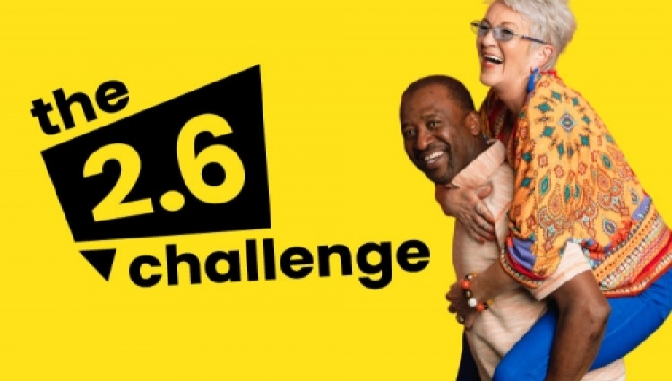 Join in the 2.6 challenge for Breast Cancer Now