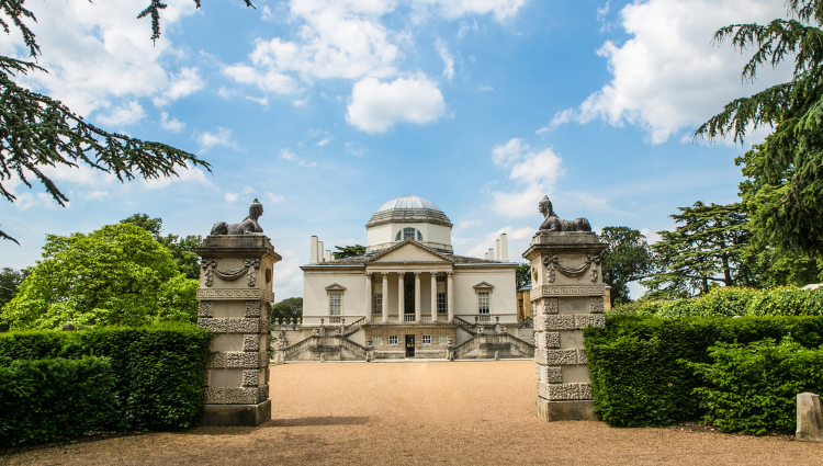 Gate and grounds of Chiswick House