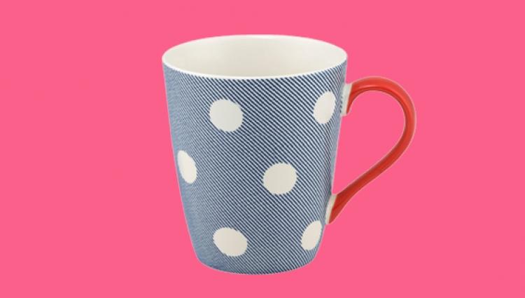 Cath Kidston navy mug