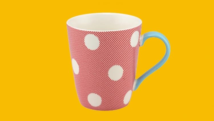Cath Kidston red mug