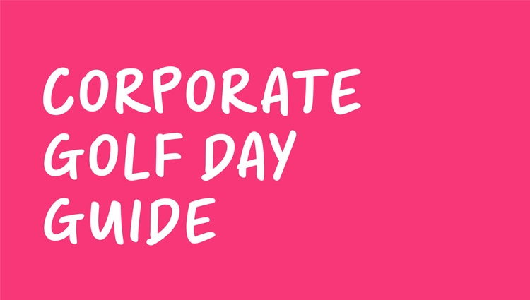 Corporate golf day guide