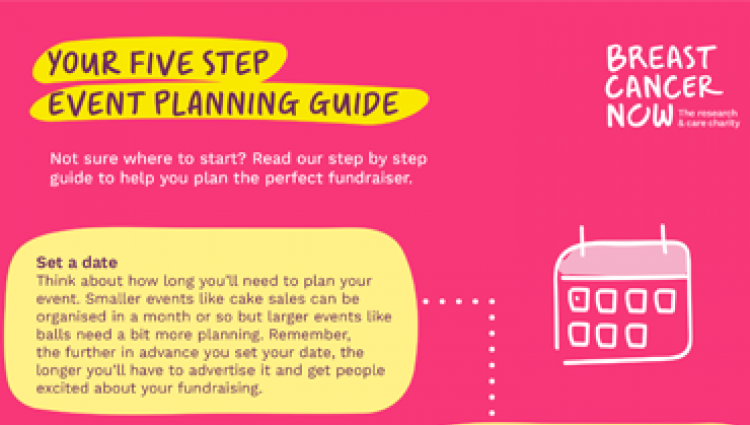 Read our step by step guide to help you plan the perfect fundraiser