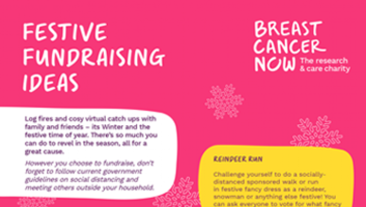 Festive fundraising guide