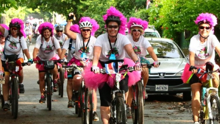 Women v Cancer Cycle Sri Lanka