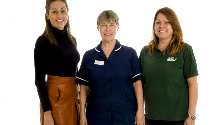Nursing team at Frimley Health
