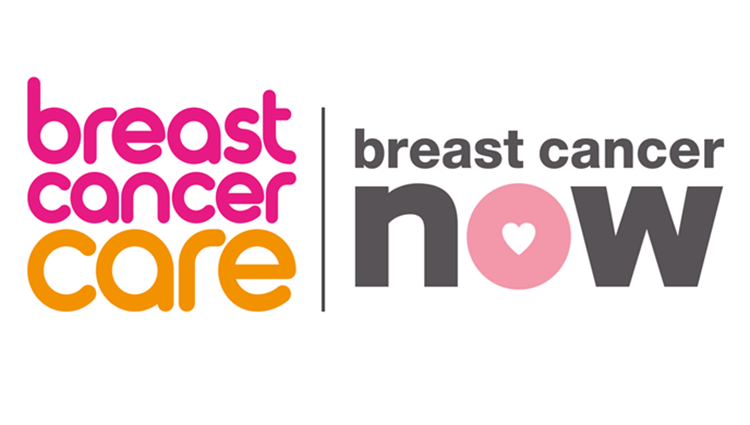 Breast Cancer Care and Breast Cancer Now logos