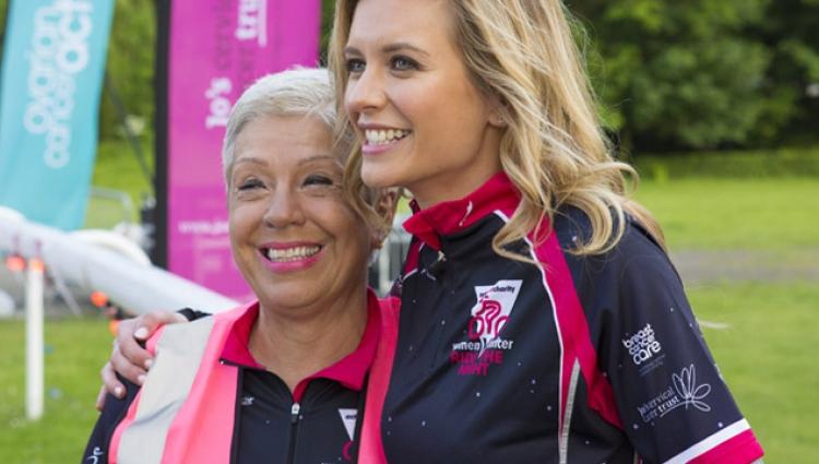 Nadjie cycled through breast cancer