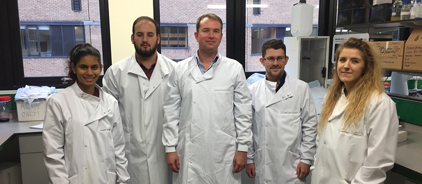 Dr Alan McIntyre and his team
