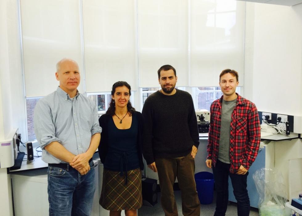 Cristina Branco and her team