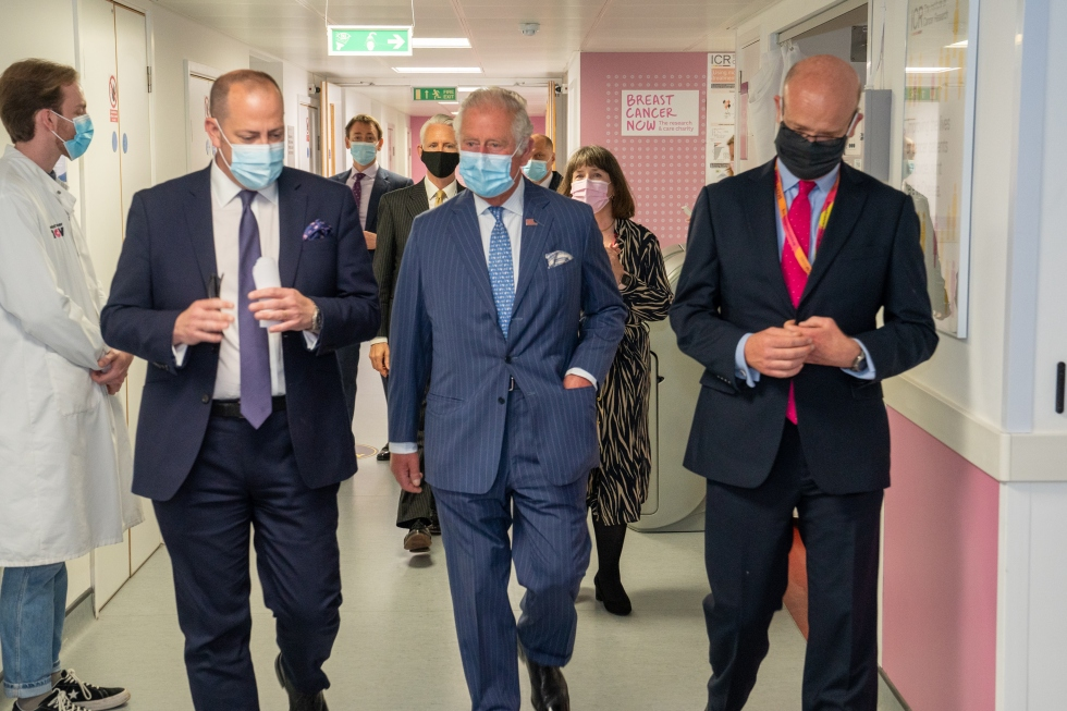 HRH The Prince Of Wales at our Research Centre