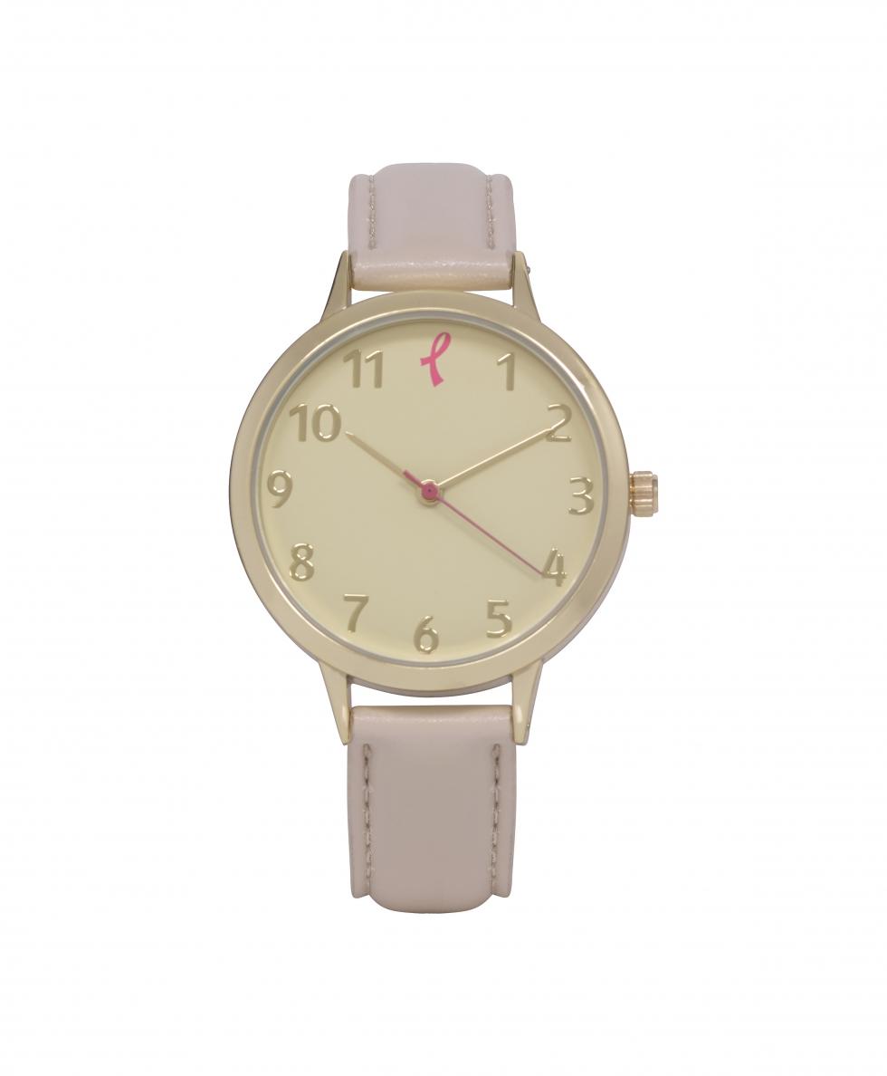 Asda Tickled Pink Beige watch