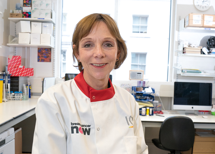 Breast Cancer Now researcher