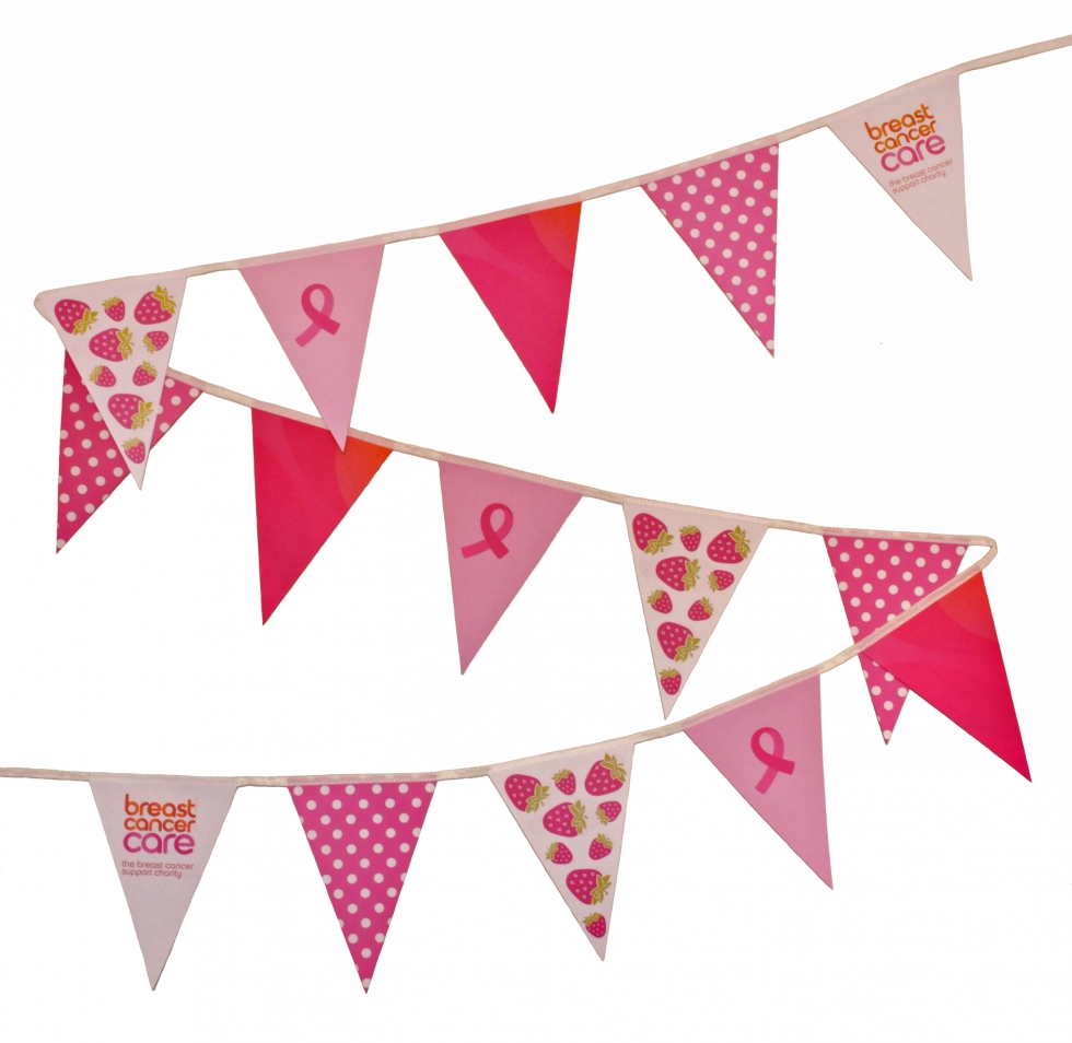 Breast Cancer Care bunting
