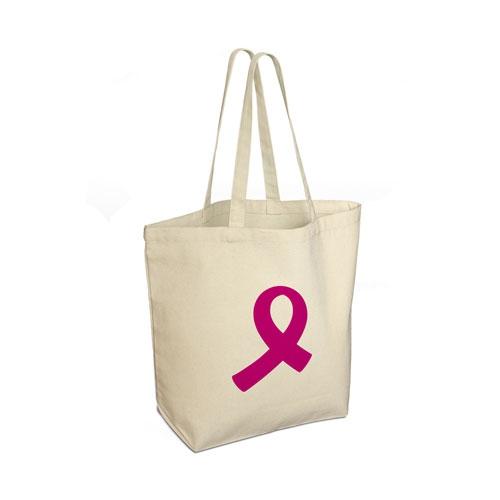 Breast Cancer Care canvas shopper