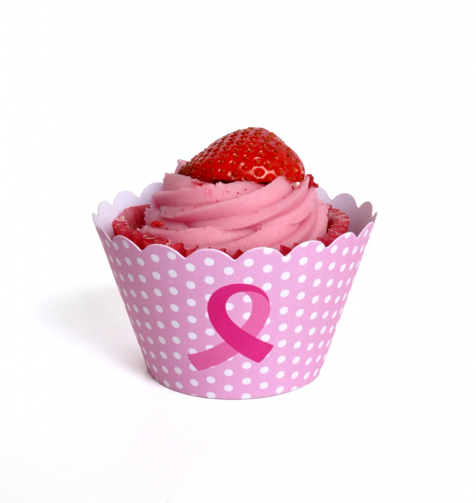 Breast Cancer Care cupcake wrappers