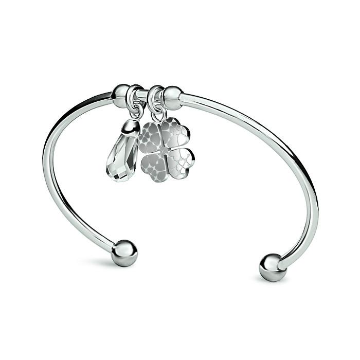 folli follie heart4heart bracelet sweetheart friendship silver crystal charm