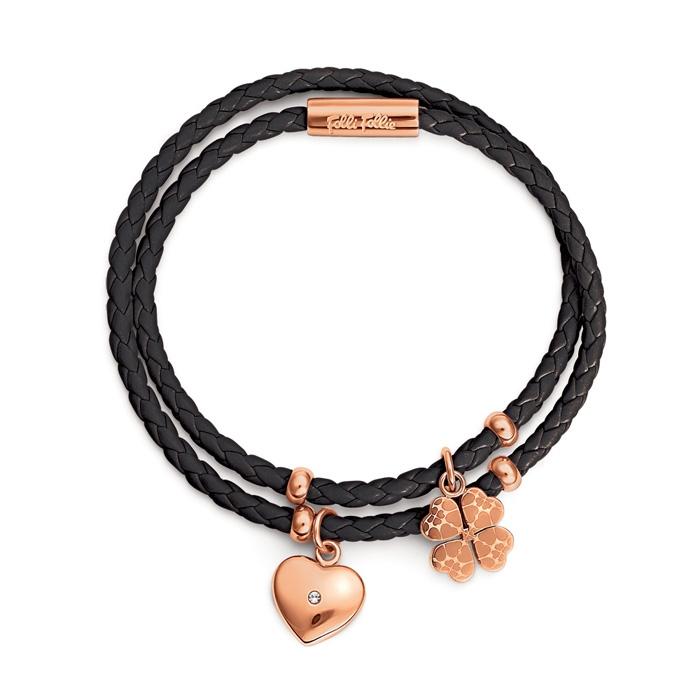 folli follie heart4heart bracelet sweetheart friendship leather