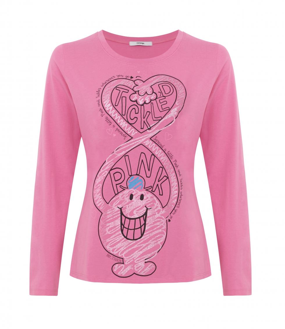Asda George Tickled Pink  t-shirt