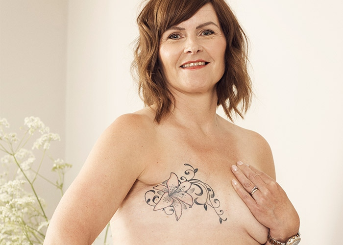 Kathleen and her tattoo
