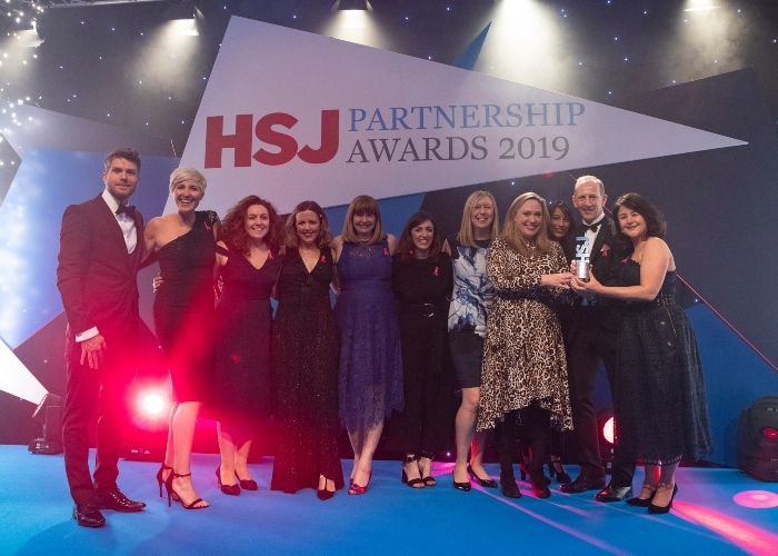 HSJ Awards Breast Cancer Now Team