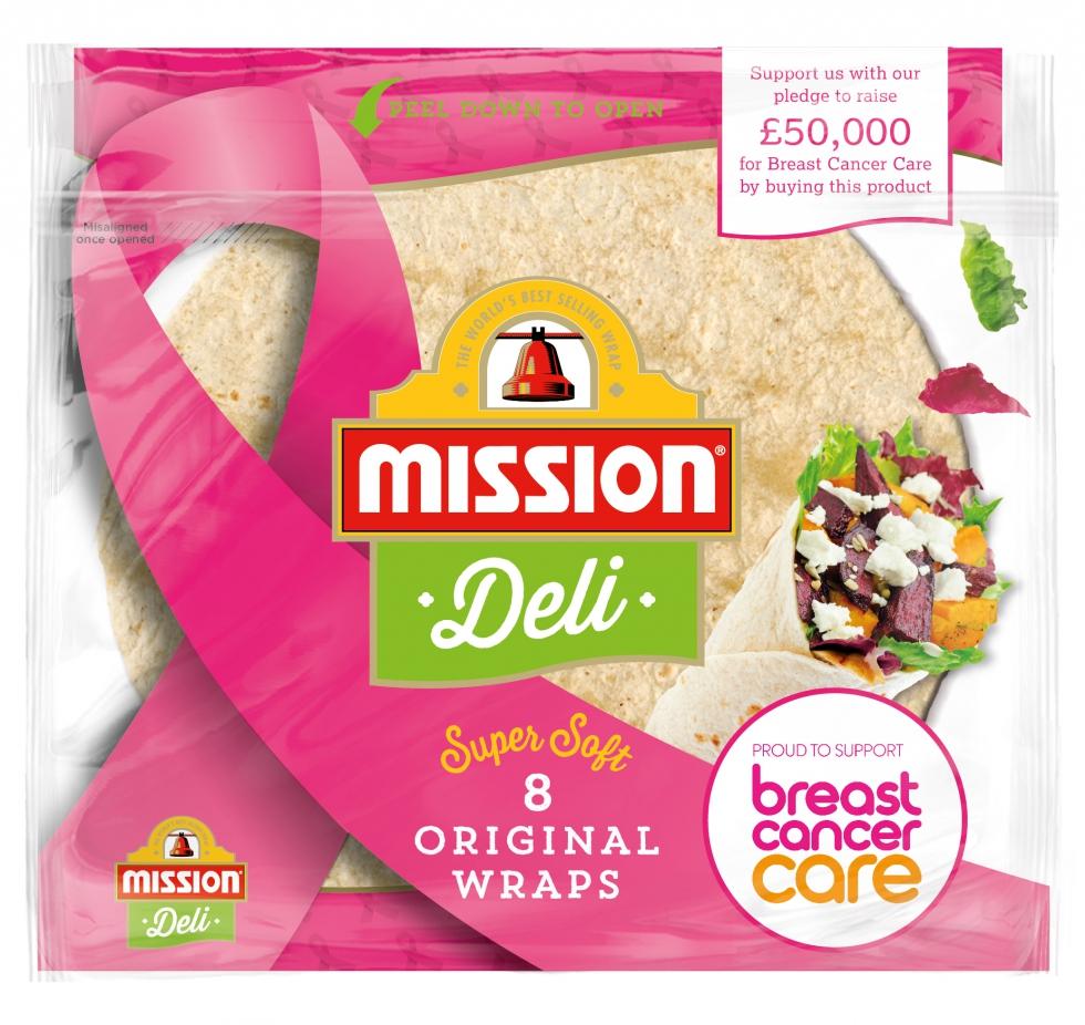 Mission Deli wraps
