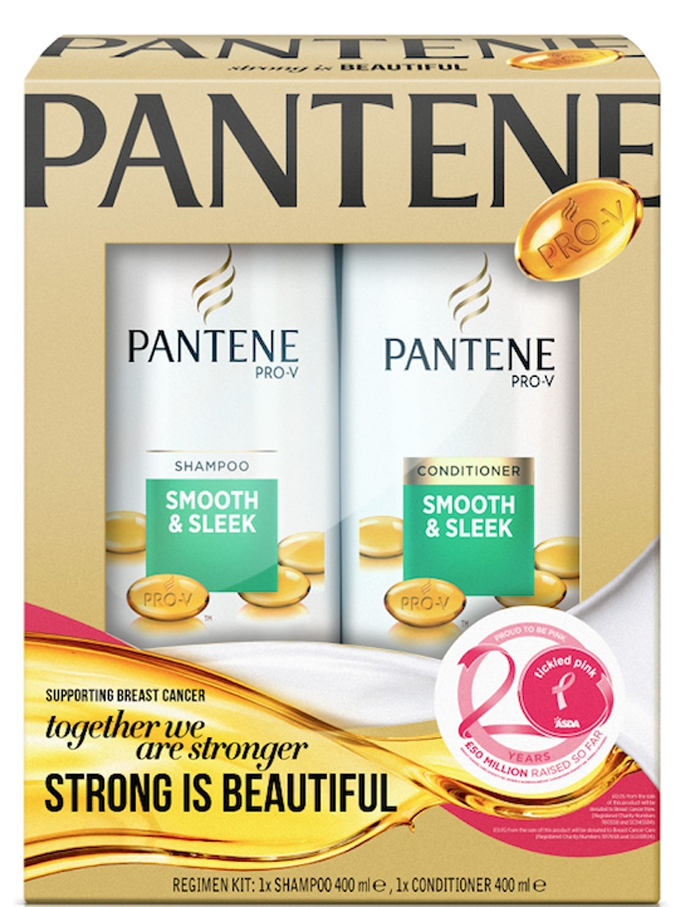 pantene dual shampoo conditioner tickled pink