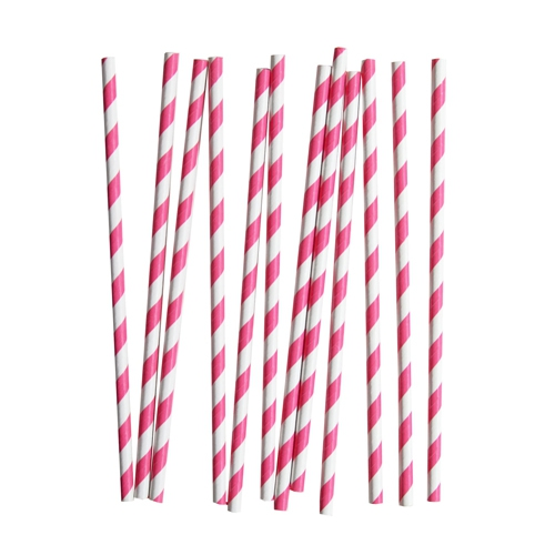 Breast Cancer Care paper straws