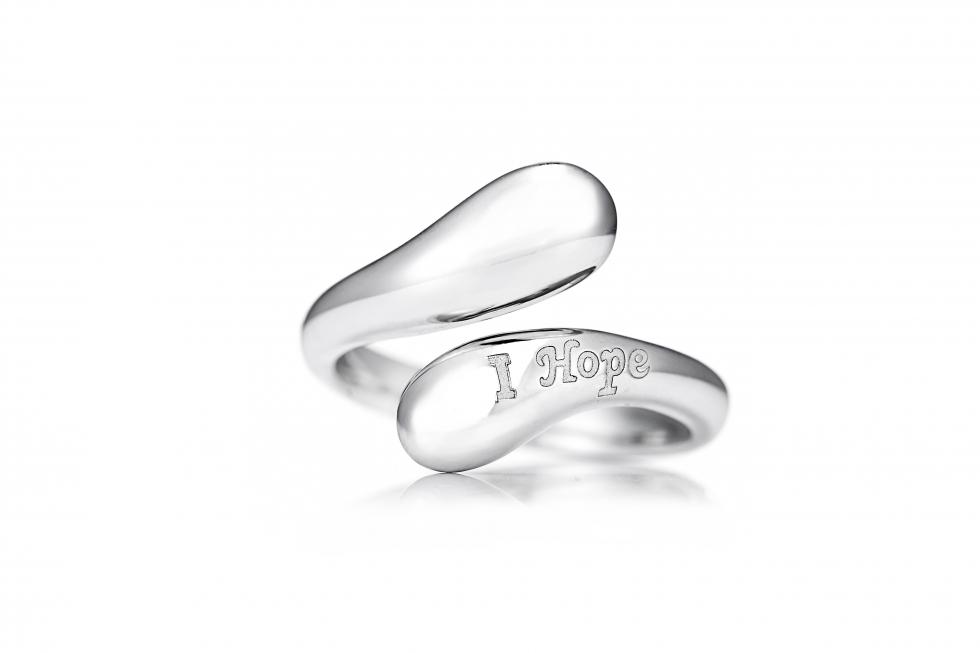 QVC Alison Keenan 'I hope' ring