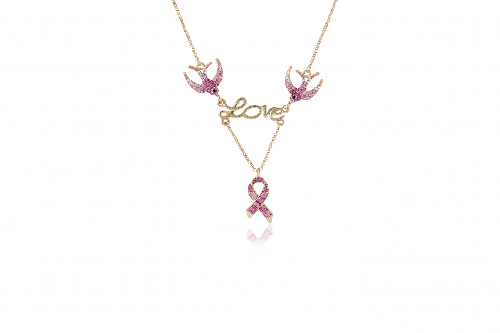 QVC Butler and Wilson swallow necklace